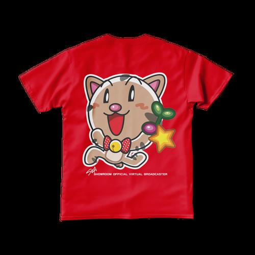 <レッドTシャツ 両面>回収みーちゃん