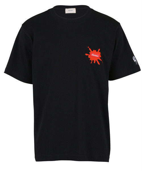 GRAPHIC EMBROIDERY RUBBER WAPPEN T-shirt[REC470]