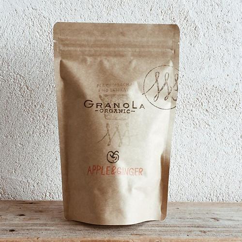 麻こころ茶屋:GRANOLA APPLE&GINGER