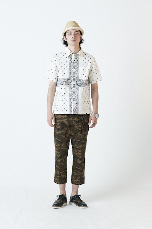 subciety  PAISLEY SHIRT S/S