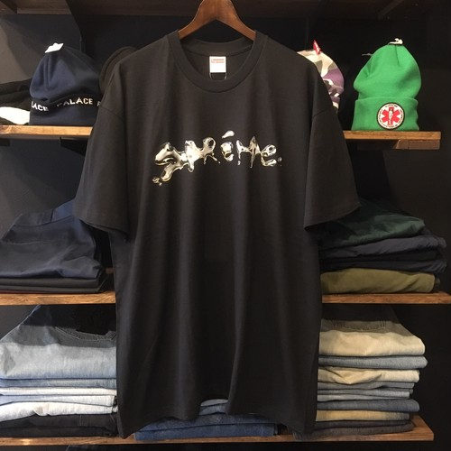 【SUPREME】 -シュプリーム-FW18 LIQUID TEE BLACK