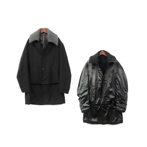 Brusco,k - Reversible Coat (size - F) ¥28000+tax → ¥22400+tax