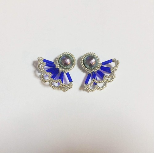 Pearl Lace Pierce/Earrings(Sサイズ)