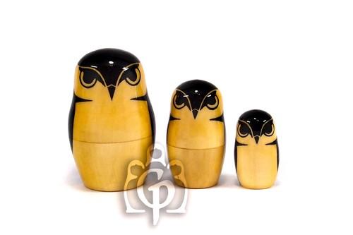 Owl 3 peaces