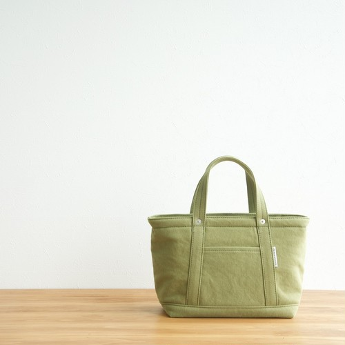 CANVAS TOTE FS / MOSS GREEN