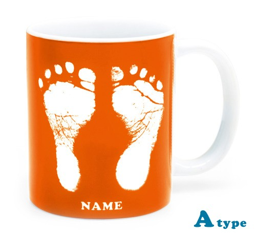ai mug   A-type (ORANGE) QRコード付き