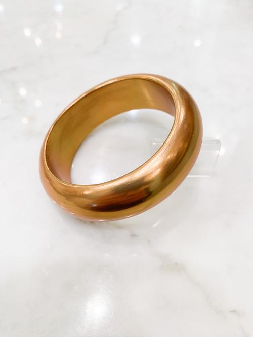 ポプラに金彩のバングル 25mm