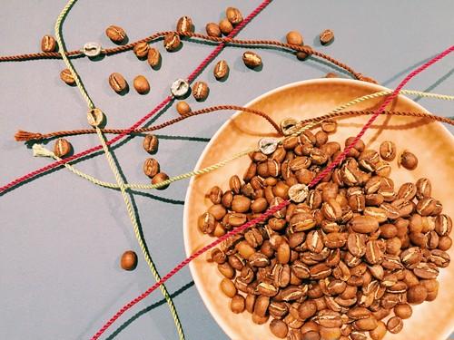 Coffee Beans Bracelet 【 真鍮 】
