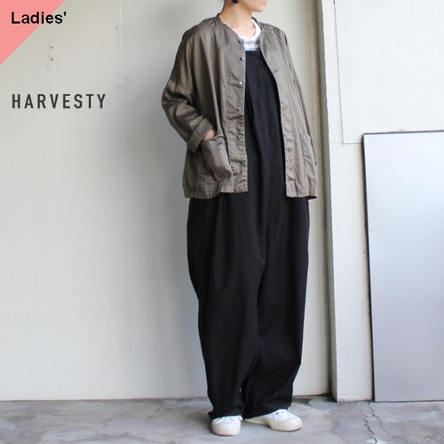 HARVESTY アトリエシャツ Atelier Shirt A41601 (OLIVE)