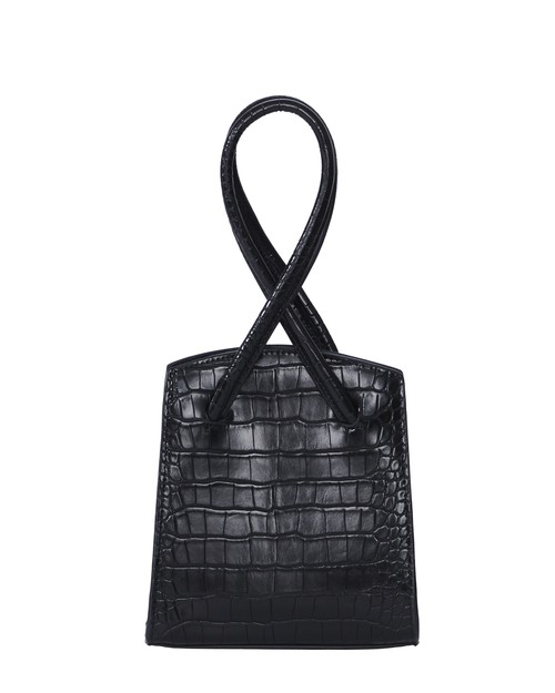 CROCODILE CROSS HANDBAG