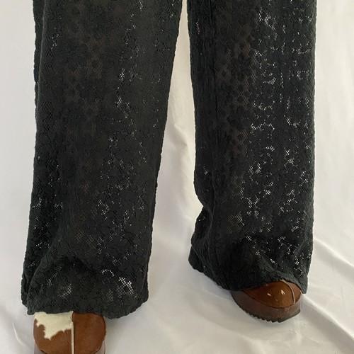black race easy pants