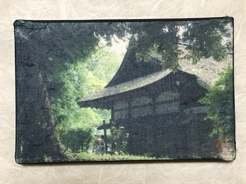 """上賀茂神社 """"Kamigamo Shrine, Kyoto""""  WASHIGRAPHY Art  SY10266"""