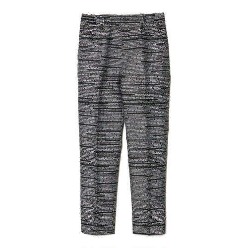 CHRISTIAN DADA -  JACQUARD SIGNATURE TROUSERS -
