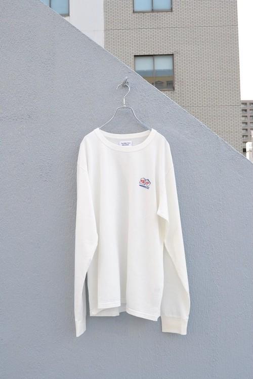 TACOMA FUJI RECORDS / CHOPSTICKS CRISIS /PROOF OF THE MAN LS shirt designed by Hiroki Niwa (KAKUOZAN LARDER)