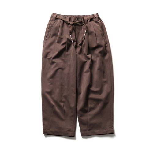 TIGHTBOOTH BAGGY SLACKS BROWN L