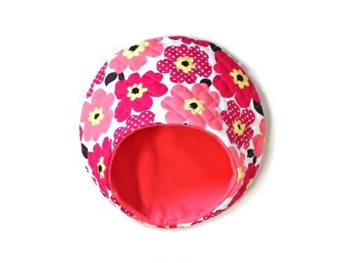 ハリちゃんのおやすみベッド(夏用)ポピー ピンク / Hedgehog bed for summer