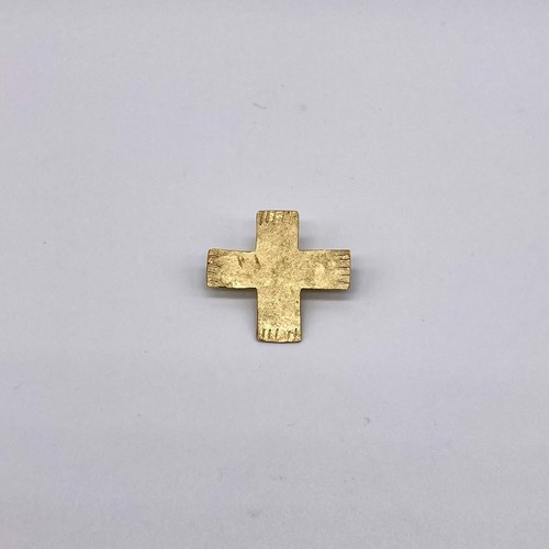 cross pin M / brass