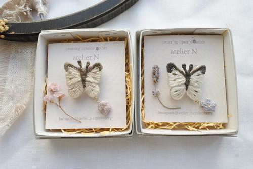 atelier N 「butterfly broach」H55、56