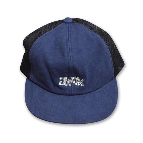JHAKX / LUMBER ORIGINAL DYE HEMP CAP - DARK BLUE-