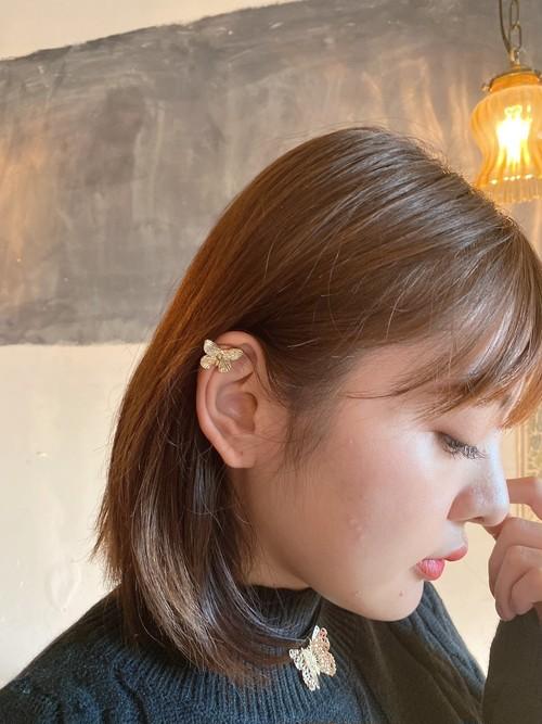 ❤︎ Restock❤︎ butterfly ear cuff