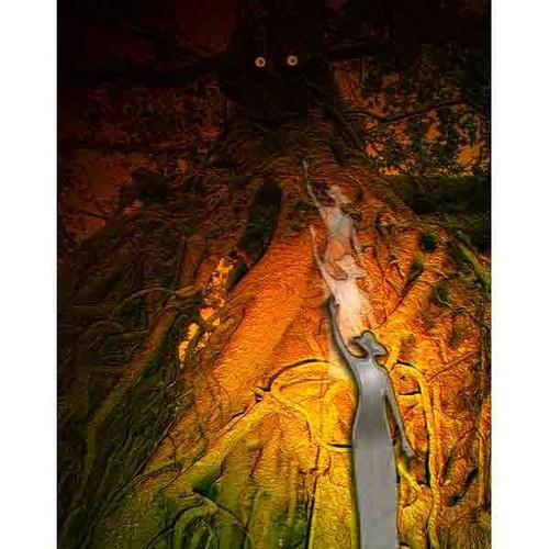 デジタルアート 神秘の森・16(邂逅04)