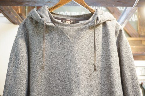 RRL by R.L. salt and pepper retrofit Hoodie