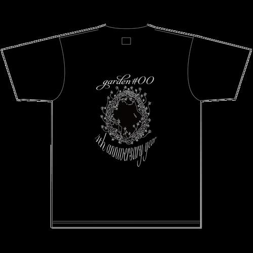 Tシャツ 黒【4th anniversary】XL