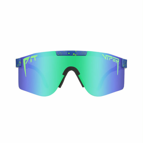 PIT VIPER - THE LEONARDO POLARIZED  / Blue Revo Mirror(偏光レンズ)  / DOUBLE WIDE