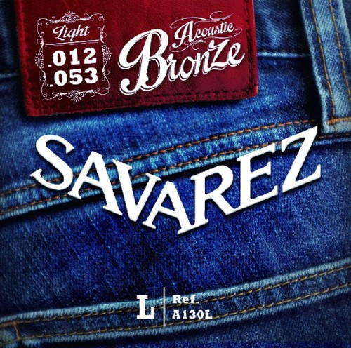 【弦】SAVAREZ A130L Acoustic Bronze Light 「西山隆行 使用弦」