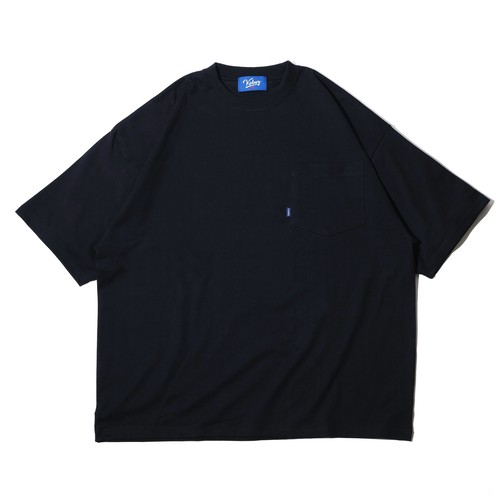 KBIG S/S POCKET TEE 【BLACK】