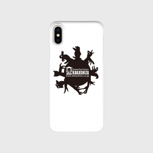 iPhone用スマホケース(手影絵動物)
