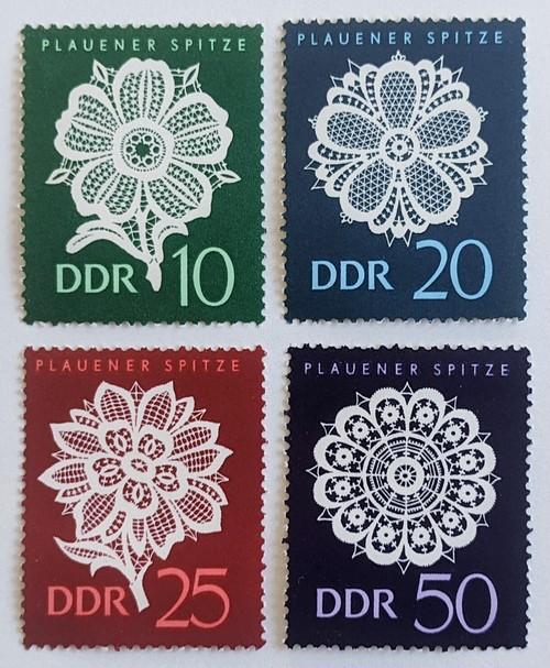 レース編み / 東ドイツ 1966