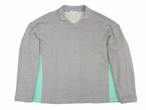 V-NECK SWEAT  GRAY  18AW-FS-26