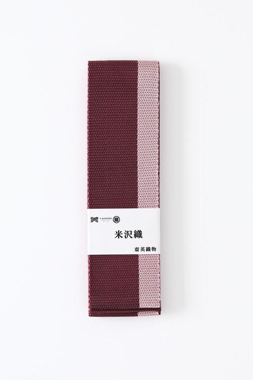 米沢角帯 / 二色 / Purple