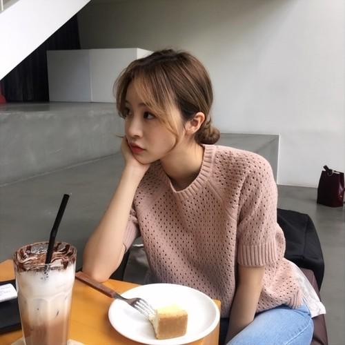 mesh knit shirts 2553