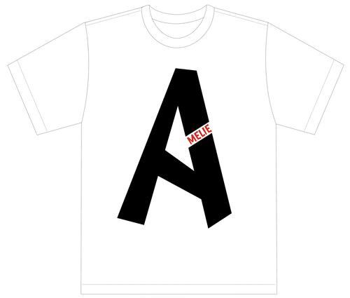 [A]Tシャツ【ホワイト】