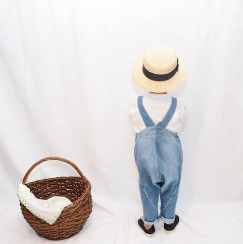 Old Denim remake overalls M