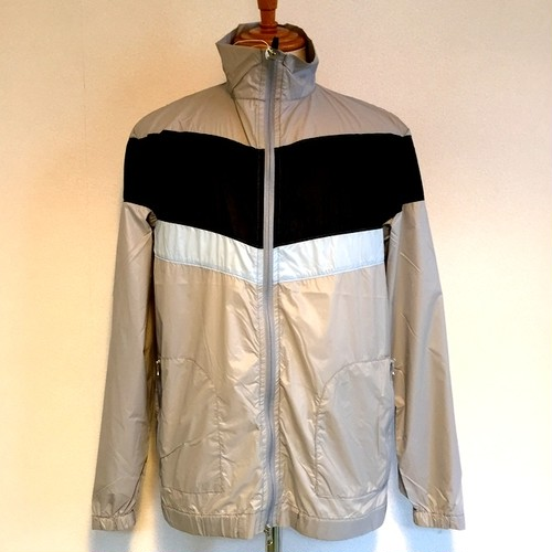 Pocketable Nylon Zip Blouson LightGray