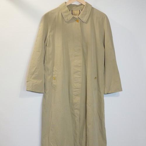 "Vintage Burberrys Balmacaan Coat ""Made in England,100%Cotton""③"