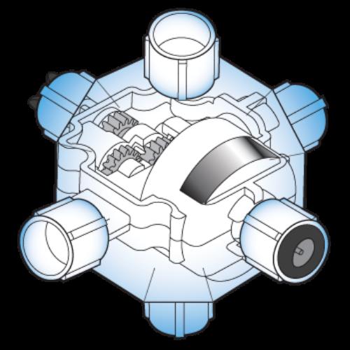 ワイヤレス減速モーターカプセル