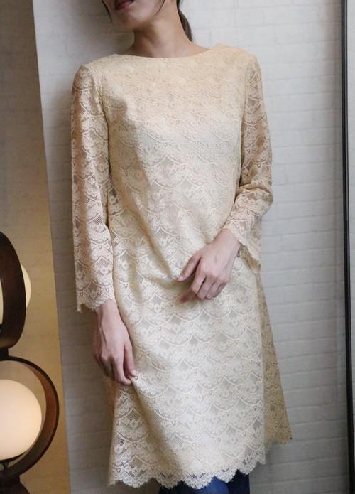 60's lace dress