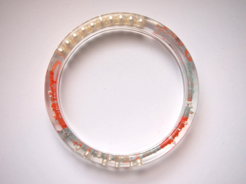 circle bangle {good luck bracelet} [C-006]