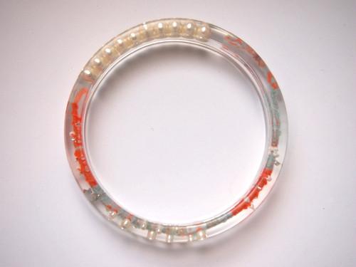 circle bangle {good luck bracelet} [C-006]