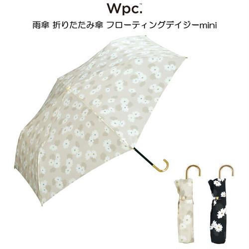 Wpc. 雨傘 折りたたみ傘 フローティングデイジーmini