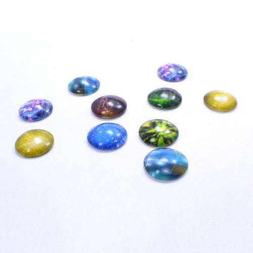 単価¥55 デザインガラスカボション(大)