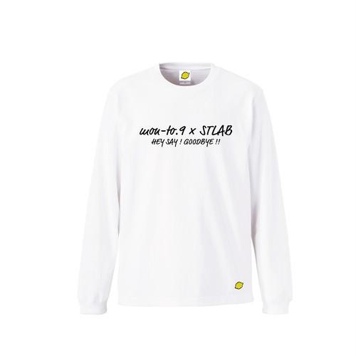 STLABコラボ長袖Tシャツ