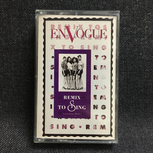 カセットテープ EN VOGUE / REMIX TO SING