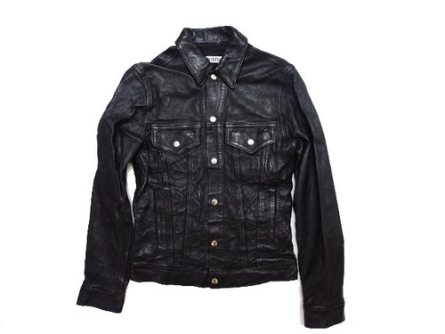 LEATHER JKT BLK (ARCHIVE)