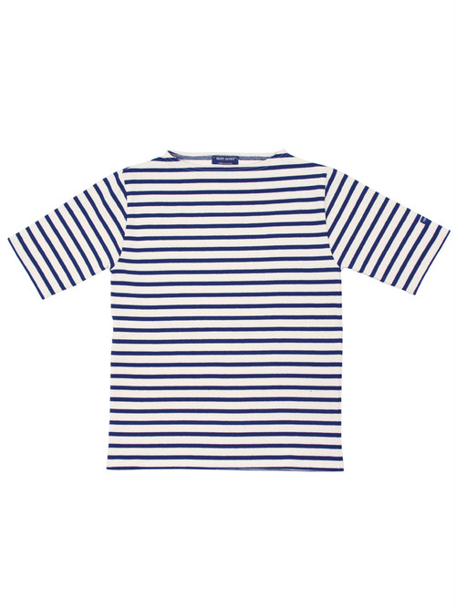 SAINT JAMES OUESSANT BORDER SHORT SLEEVE(半袖)ECRU/MARINE