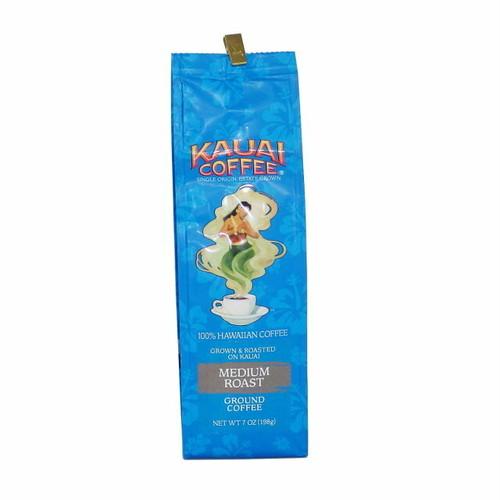カウアイコーヒー 100%ハワイアン ミディアムロースト (挽いた豆)